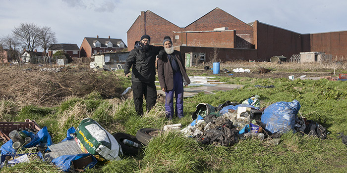 Lime Tree Rd Clear-up