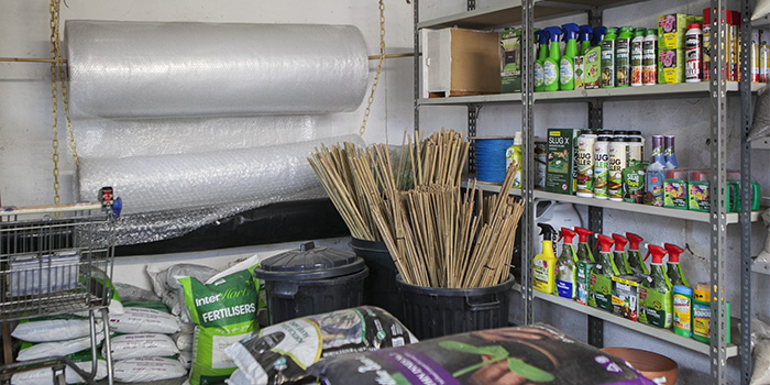 Ward End Gardeners Association Facilities and Stores – restrictions